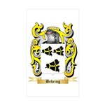 Behring Sticker (Rectangle 50 pk)
