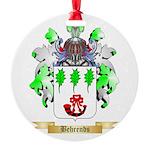 Behrends Round Ornament