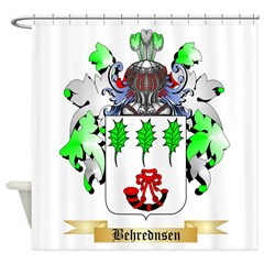 Behrednsen Shower Curtain