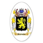 Behrbohm Sticker (Oval 10 pk)