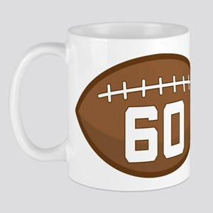 Football Player Number 60 Mug