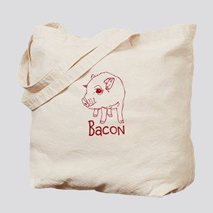 Bacon Pig Tote Bag