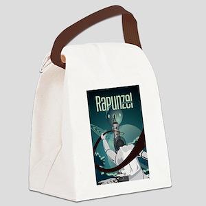 Sci Fi Rapunzel Canvas Lunch Bag