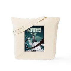 Sci Fi Rapunzel Tote Bag