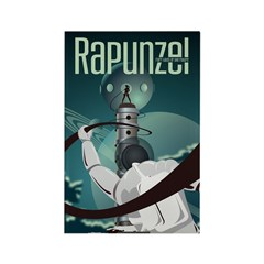 Sci Fi Rapunzel Rectangle Magnet (100 pack)