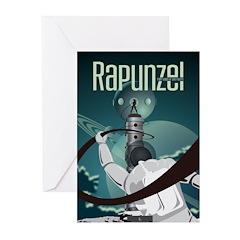 Sci Fi Rapunzel Greeting Cards (Pk of 10)