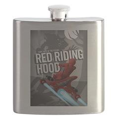 Sci Fi Red Riding Hood Flask