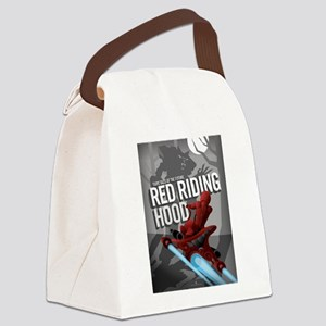 Sci Fi Red Riding Hood Canvas Lunch Bag