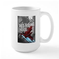 Sci Fi Red Riding Hood Large Mug