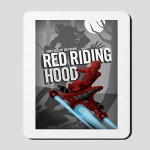 Sci Fi Red Riding Hood Mousepad