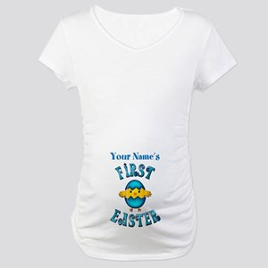 First Easter Personalized Maternity T-Shirt