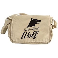 B&W Big Bad Wolf Messenger Bag