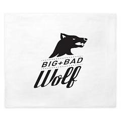 B&W Big Bad Wolf King Duvet