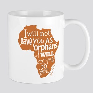 Jn. 14:18 Graphic Mugs
