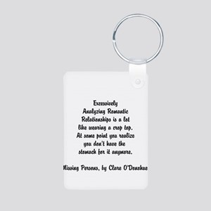 Quotes from Clare O'Donohue Keychains