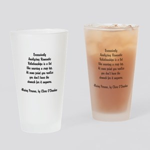 Quotes from Clare O'Donohue Drinking Glass