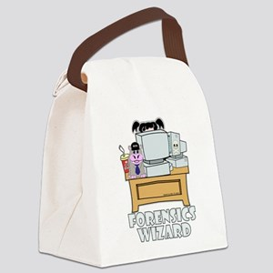 Abby Forensics Wizard Canvas Lunch Bag