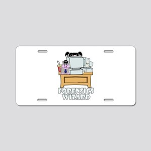 Abby Forensics Wizard Aluminum License Plate
