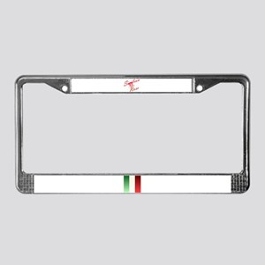Sicilian Rose License Plate Frame