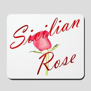 Sicilian Rose Mousepad
