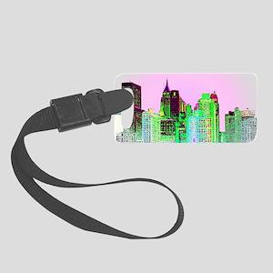 NYC SKYLINE Small Luggage Tag