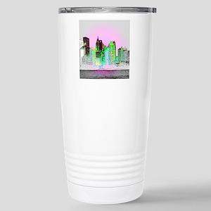 NYC SKYLINE Stainless Steel Travel Mug