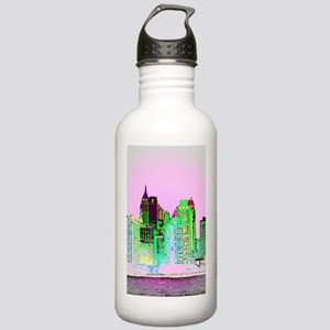 NYC SKYLINE Stainless Water Bottle 1.0L