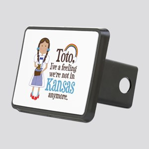 Dorothy Kansas Quote Rectangular Hitch Cover