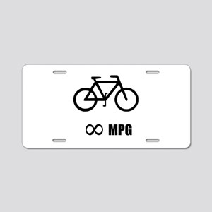 Bicycle MPG Aluminum License Plate