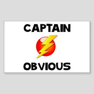Captain Obvious Sticker