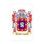 Behning Sticker (Rectangle 50 pk)
