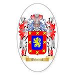 Behninck Sticker (Oval 10 pk)