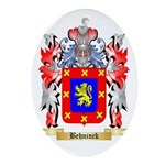 Behninck Ornament (Oval)