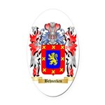 Behnecken Oval Car Magnet