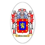 Behnecken Sticker (Oval 50 pk)