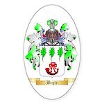 Begly Sticker (Oval 10 pk)