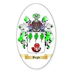 Begly Sticker (Oval 50 pk)