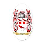 Begley Oval Car Magnet