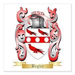 Begley Square Car Magnet 3