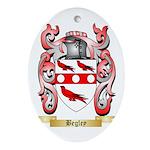 Begley Ornament (Oval)