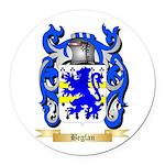 Beglan Round Car Magnet