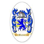 Beglan Sticker (Oval 50 pk)