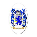 Beglan 20x12 Oval Wall Decal