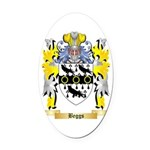 Beggs Oval Car Magnet