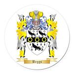 Beggs Round Car Magnet