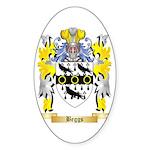 Beggs Sticker (Oval 50 pk)