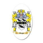 Beggs 35x21 Oval Wall Decal