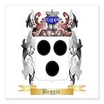 Beggio Square Car Magnet 3
