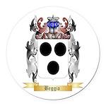 Beggio Round Car Magnet