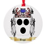 Beggi Round Ornament